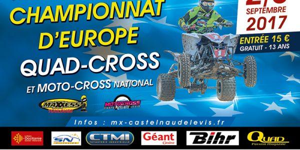 Championnat d'Europe de Quad Cross à Castelnau-de-Levis