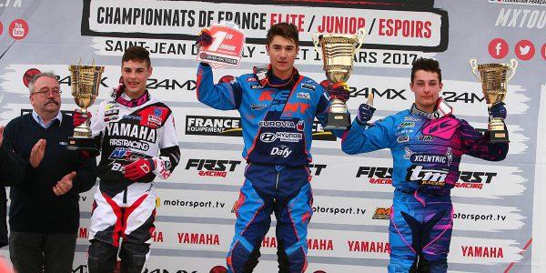Calvin Fonvieille Champion de France !
