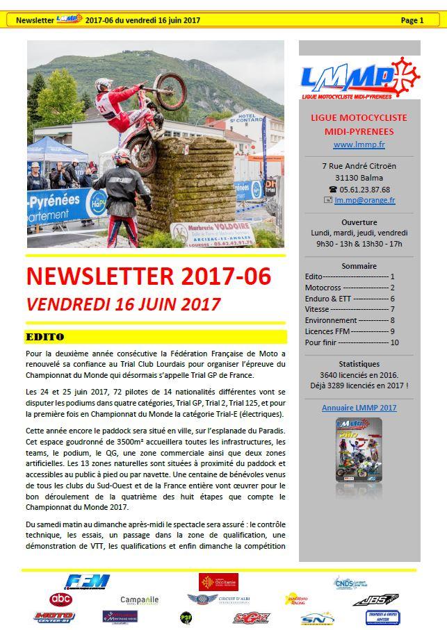 Newsletter N2017-06