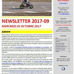 Newsletter N2017-09