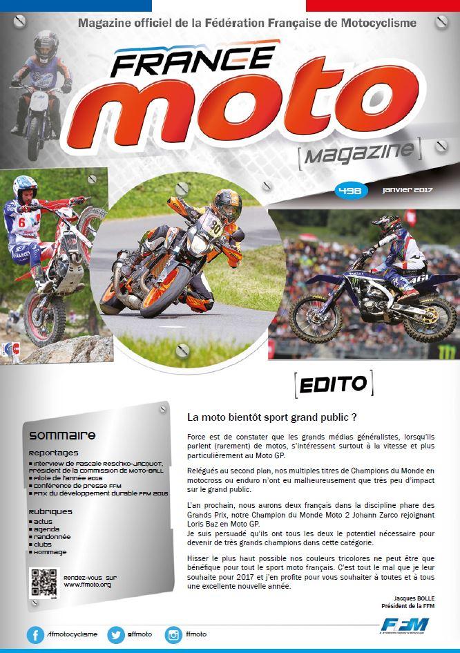 France Moto Magazine 498 janvier 2017