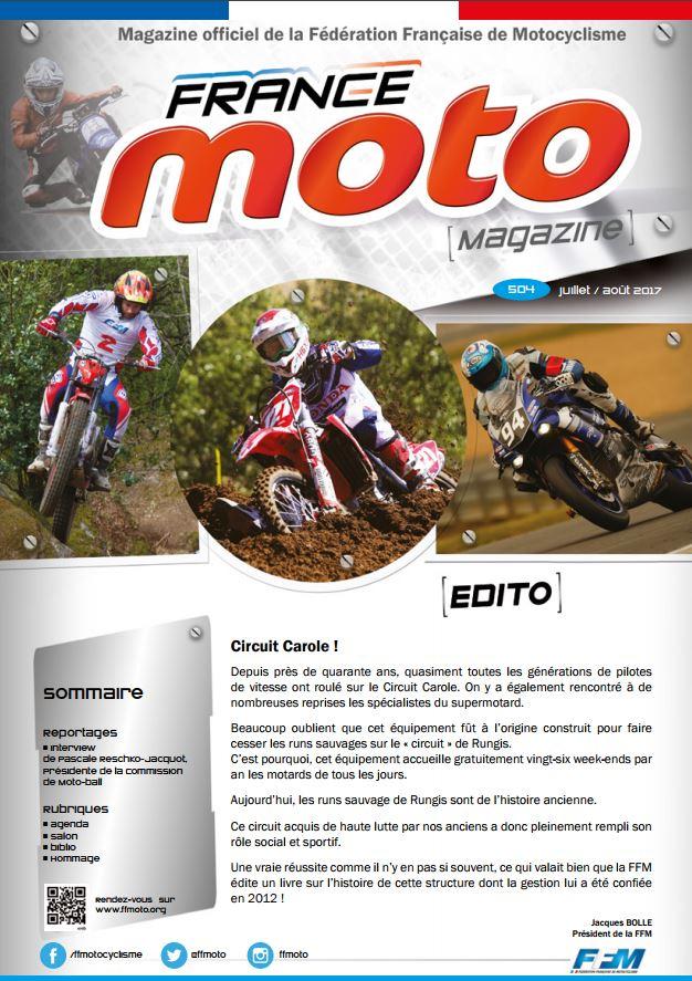France Moto Magazine 504 Juillet Aout 2017