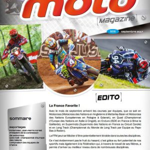 France Moto Magazine 505 Septembre 2017