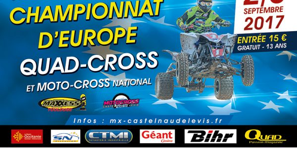 Championnat d'Europe de Quad Cross