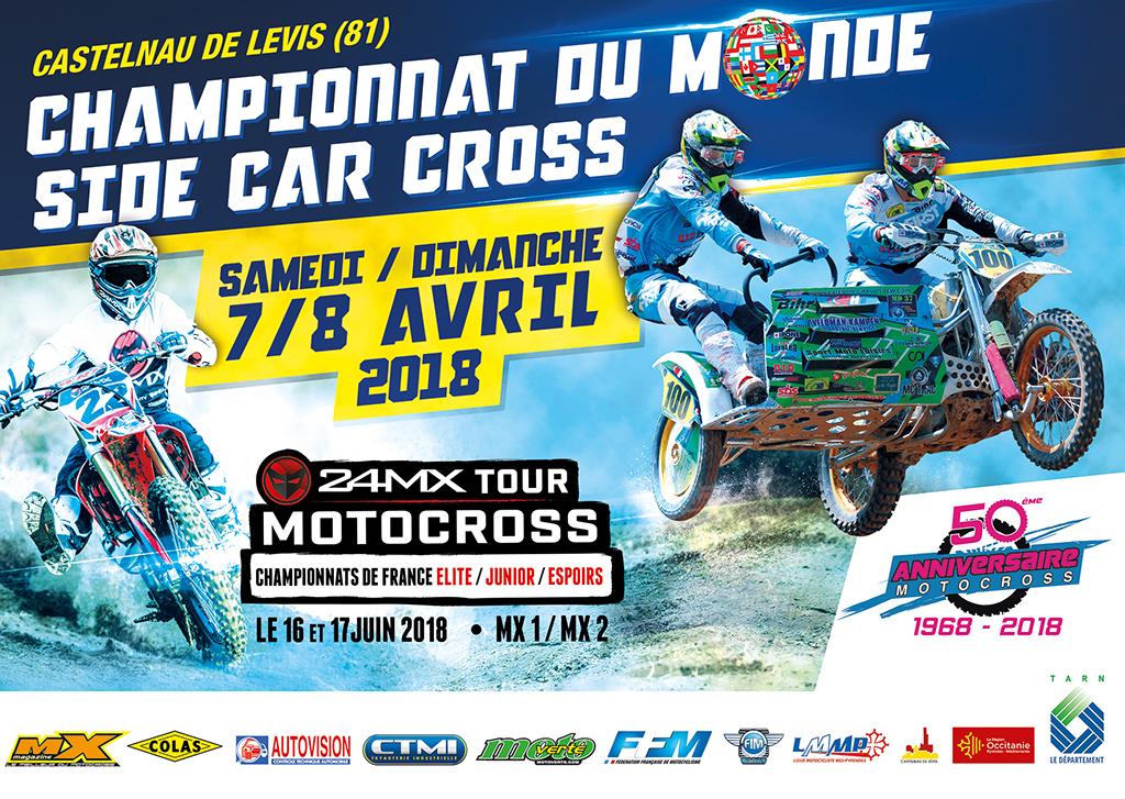 Calendrier Grand Prix De France Side Car Cross
