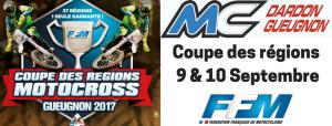 CFR Motocross : la sélection