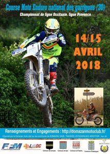 14-15/04/2018 : Enduro à Domazan