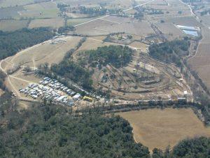 Circuit de la Tourille à Villevieille (30)