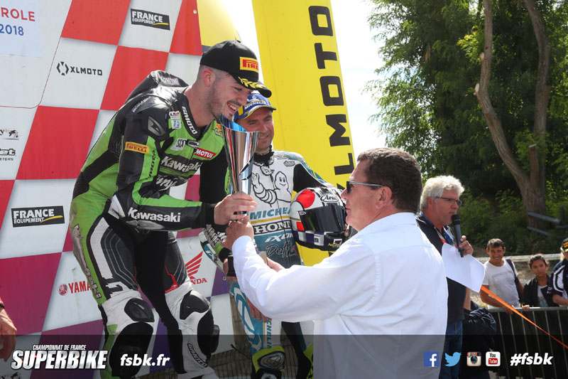 CAROLE FSBK 2018 6ème manche du Championnat de France Superbike 25 & 26 Aout 2018 © PHOTOPRESS Tel: 04 93 37 95 96 info@photopress.fr