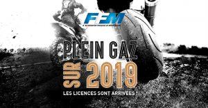 Licence FFM : plein gaz sur 2019 !