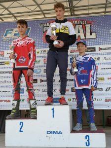 Des podium au Championnat de France de Trial