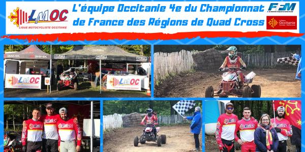 Retour sur le Championnat de France des Régions de Quad