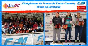 Le Championnat de France de Cross-Country faisait étape en Occitanie