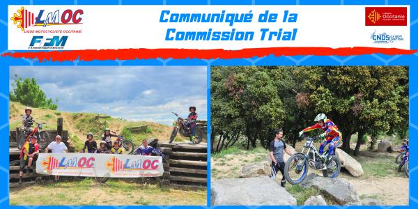 Communiqué de la Commission Trial