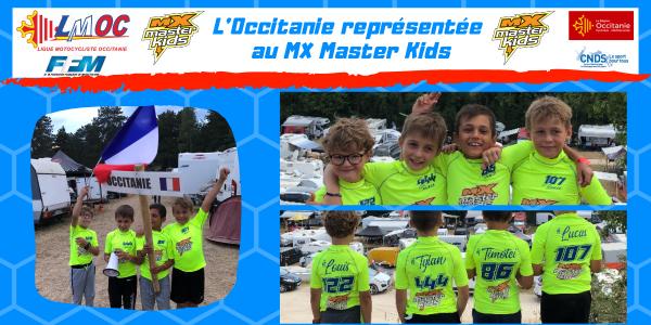 L'Occitanie représentée au MX Master Kids