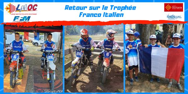 Retour sur le Trophée Franco Italien