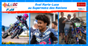 Axel Marie-Luce au Supermoto des Nations
