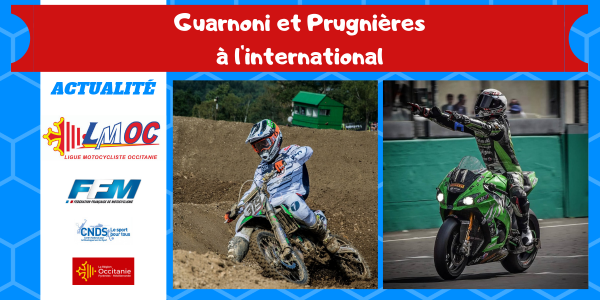 Guarnoni et Prugnières à l'international