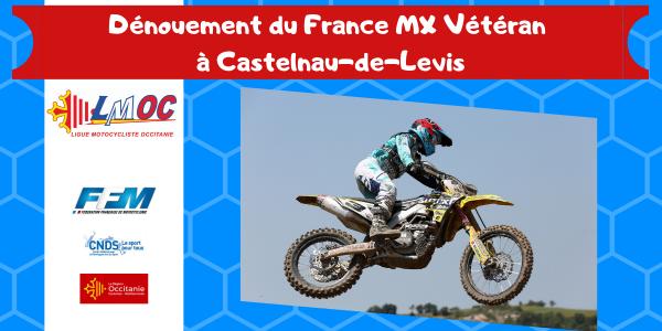 Dénouement du France MX Vétéran à Castelnau-de-Levis