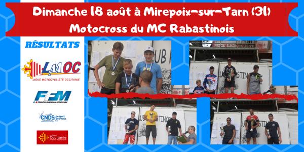 Dimanche 18 août à Mirepoix-sur-Tarn (31)