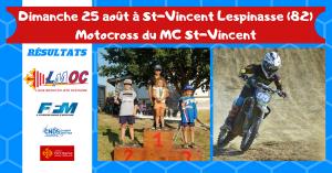 Dimanche 25 août à St-Vincent Lespinasse (82)