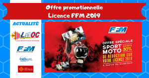Offre promotionnelle licence FFM 2019