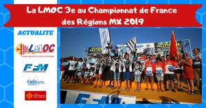 La LMOC 3e au Championnat de France des Régions MX 2019