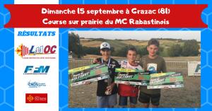 Dimanche 15 septembre à Grazac (81)