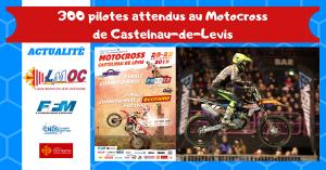 300 pilotes attendus au Motocross de Castelnau-de-Levis