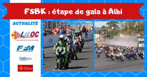 FSBK : étape de gala à Albi