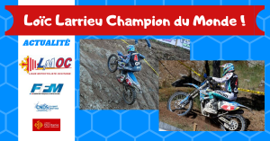 Loïc Larrieu Champion du Monde !