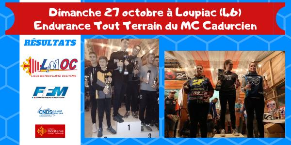 Dimanche 27 octobre à Loupiac (46)