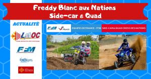 Freddy Blanc aux Nations Side-Car & Quad