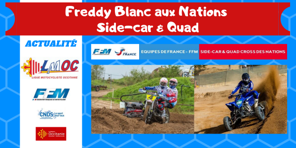 Freddy Blanc aux Nations Side-Car & Quad