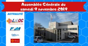 Assemblée Générale du samedi 9 novembre 2019