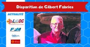 Disparition de Gilbert Fabries
