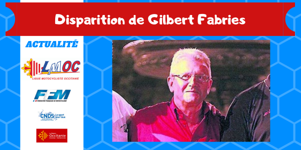Disparition de Gilbert Fabries