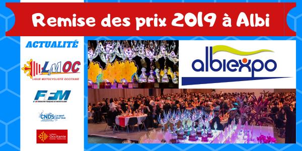 Remise des prix 2019 à Albi