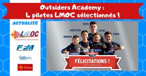 Outsiders Academy : 4 pilotes LMOC sélectionnés !