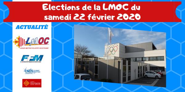 Elections de la LMOC du samedi 22 février 2020