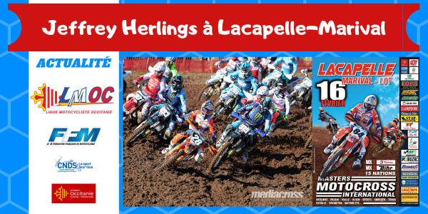 Jeffrey Herlings à Lacapelle-Marival