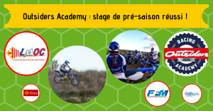 Outsiders Academy : stage de pré-saison réussi !
