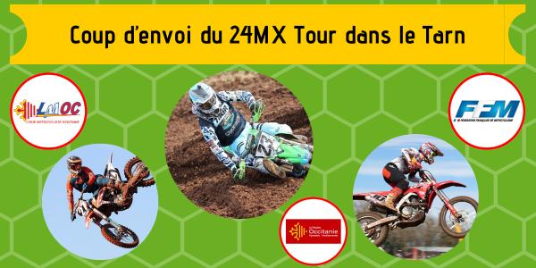 Coup d'envoi du 24MX Tour dans le Tarn