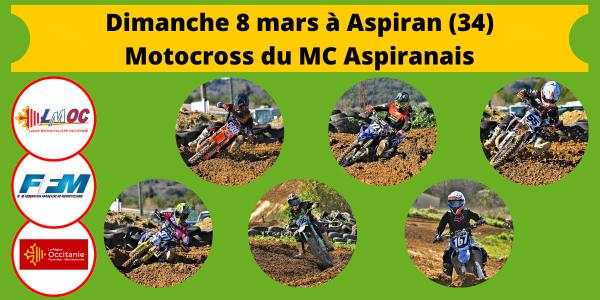 Dimanche 8 mars à Aspiran (34)