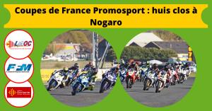 Coupes de France Promosport : huis clos à Nogaro