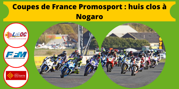 Coupes de France Promosport : huis clos à Nogaro
