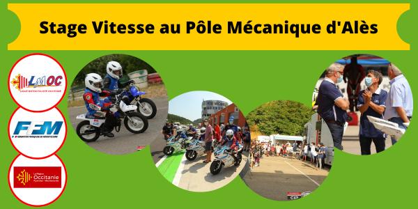Stage Vitesse au Pôle Mécanique d'Alès
