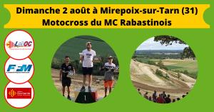 Dimanche 2 août à Mirepoix-sur-Tarn (31)