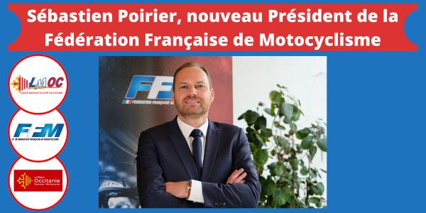 Sébastien Poirier, nouveau Président de la Fédération Française de Motocyclisme