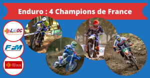 Enduro : 4 Champions de France
